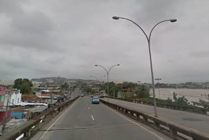 Crime aconteceu no viaduto da Pavuna, na Zona Norte do Rio