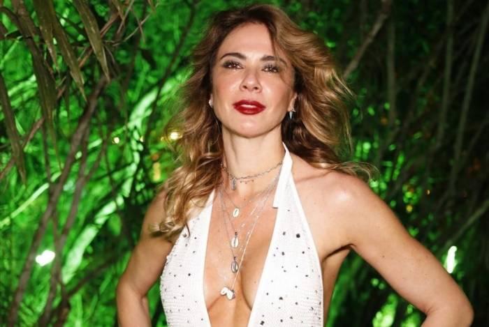 Luciana Gimenez em Trancoso