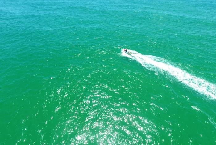 Durante os cinco dias de buscas, um jet ski do 9º GBM de Macaé foi utilizado na operação