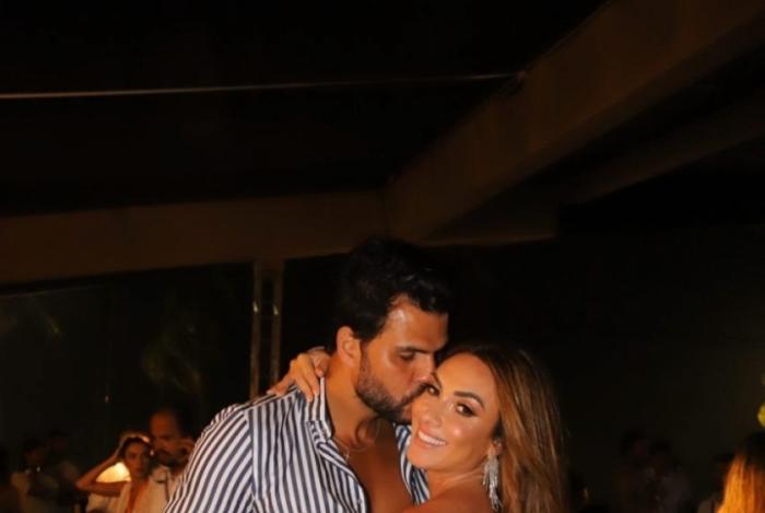 Nicole Bahls e Marcelo