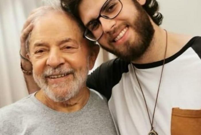 Neto de Lula ganhou visibilidade após petista deixar prisão
