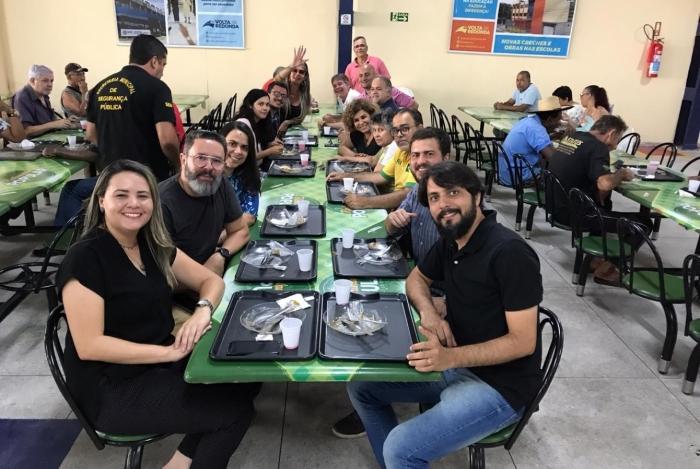 O Restaurante Popular funciona na Avenida da Integração, no bairro Aterrado
