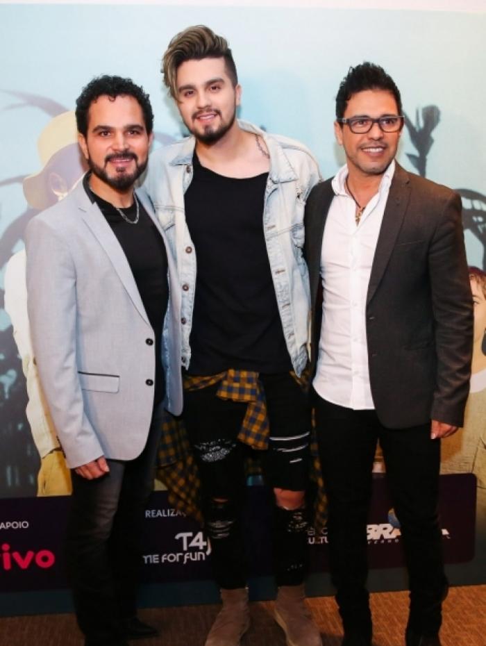 Luan Santana, Zezé di Camargo e Luciano