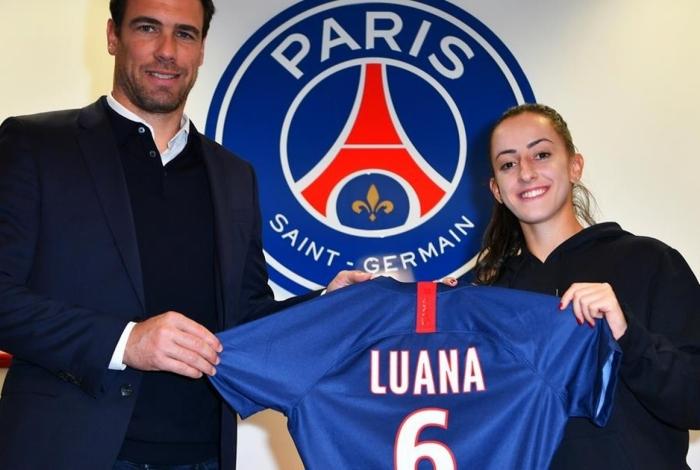Luana assina com o PSG