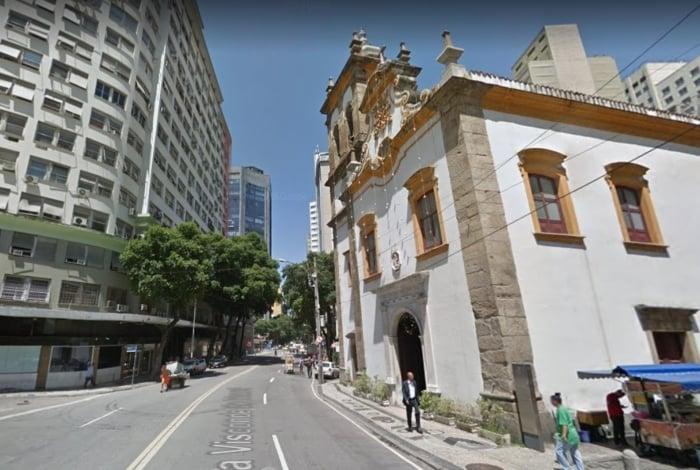 Igreja de Santa Rita era última parada antes da forca