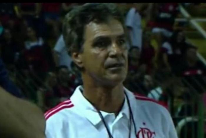 Alexandre Sanz está afastado do Flamengo desde a chegada de Jorge Jesus