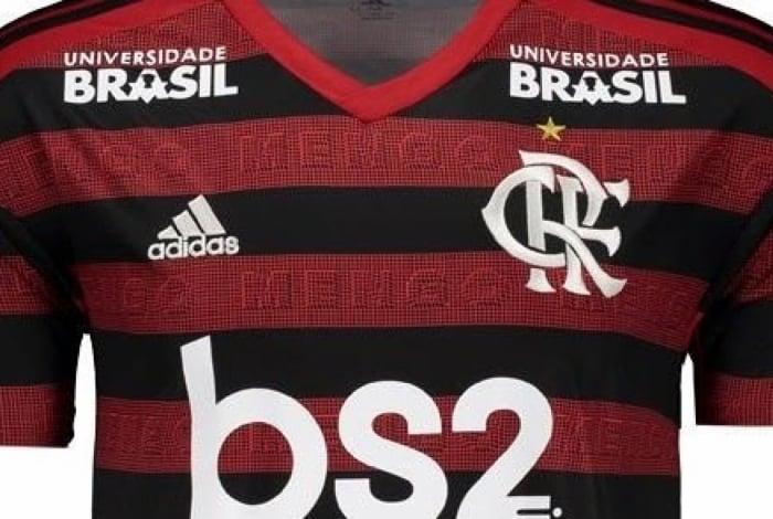 Camisa do Flamengo da temporada 2019