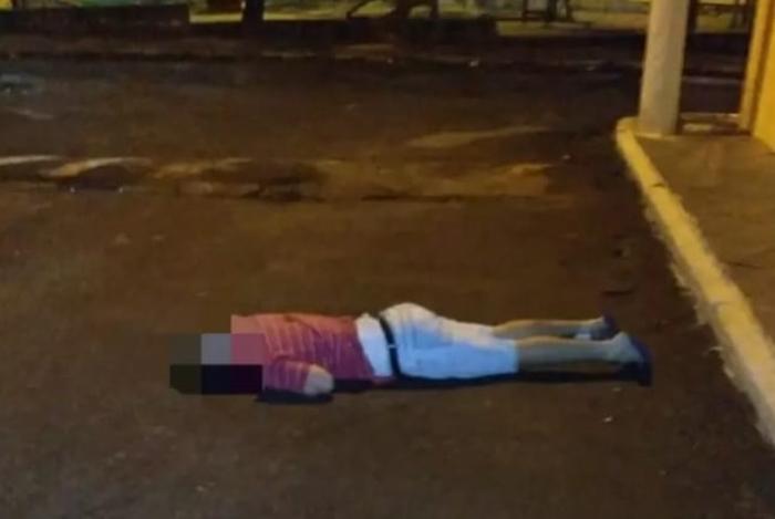 Homem foi morto a tiros no bairro Brasilândia, em São Gonçalo