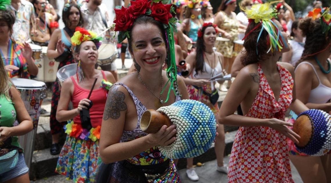 Bloco das Fridas. Praca XV, Centro do Rio