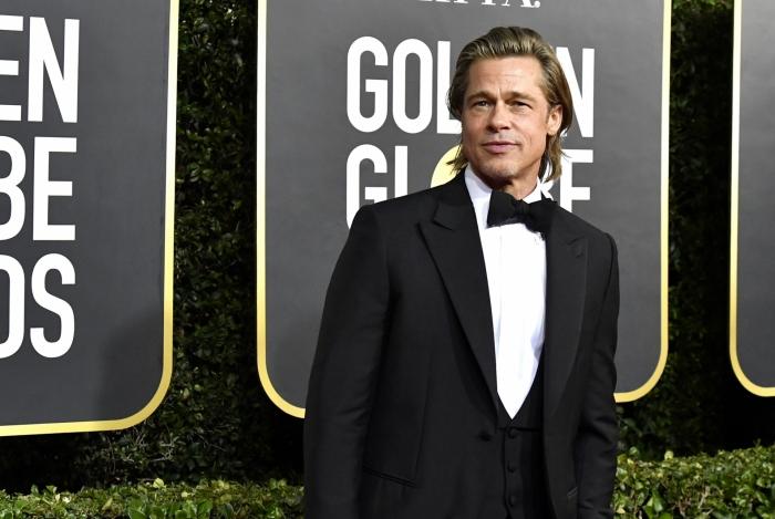 Brad Pitt no Globo de Ouro
