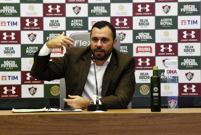 Mario Bittencourt, presidente do Fluminense