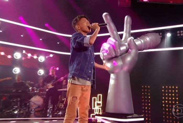 Kauê Penna, do 'The Voice Kids', da Globo