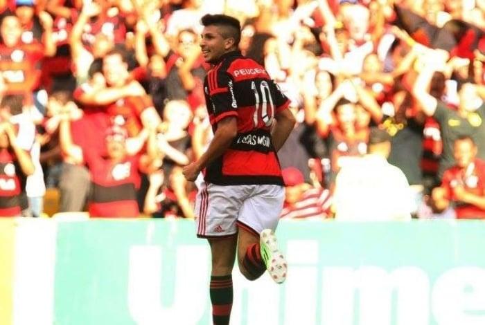 Lucas Mugni atuou pelo Flamengo em 2014