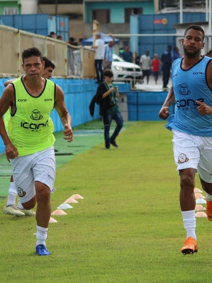 Jogadores do Macaé Esporte se preparam para reta final da Seletiva