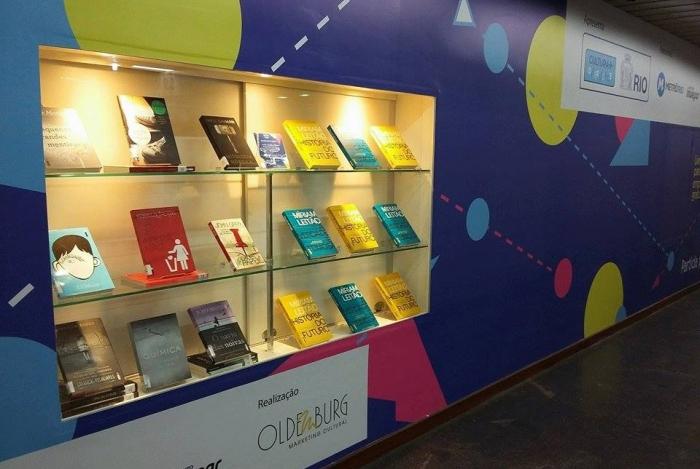 MetrôRio promove troca de livros na estação Central durante o mês de janeiro