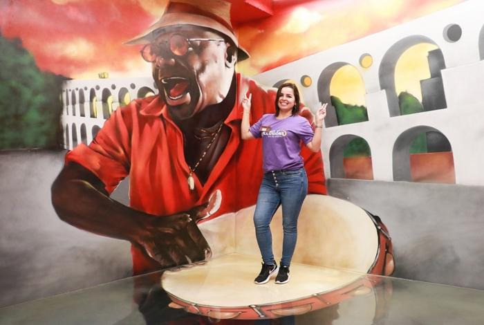 'Museu de Ilusões' chega ao Rio com pinturas imersivas