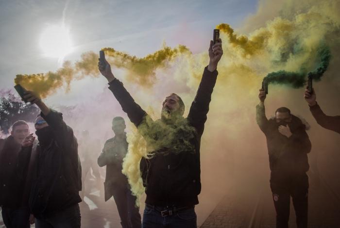 Protestos contra a reforma da Previdência continuam na França