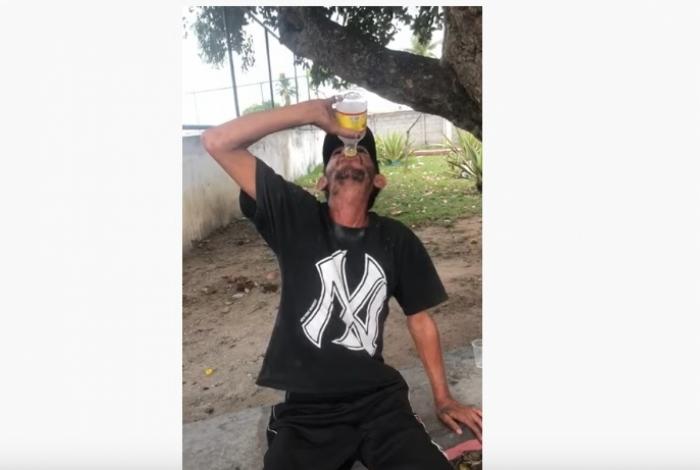 Catador morreu após ingerir bebida