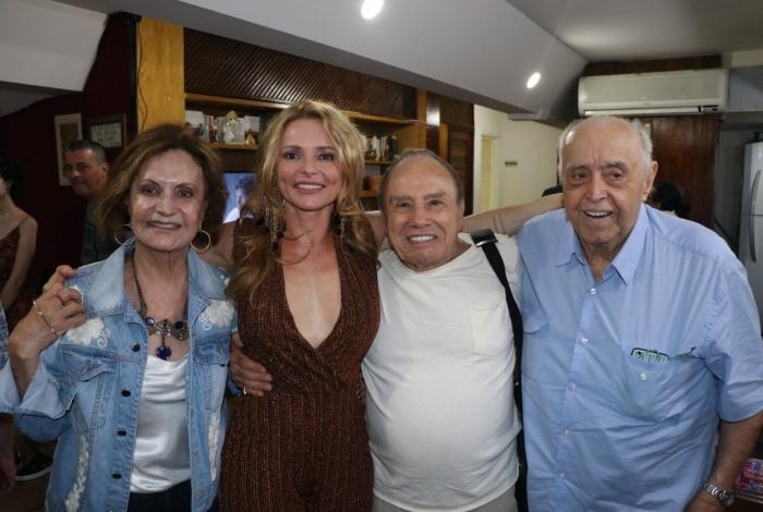 Rosamaria Murtinho, Rita Guedes, Stênio Garcia e Mauro Mendonça