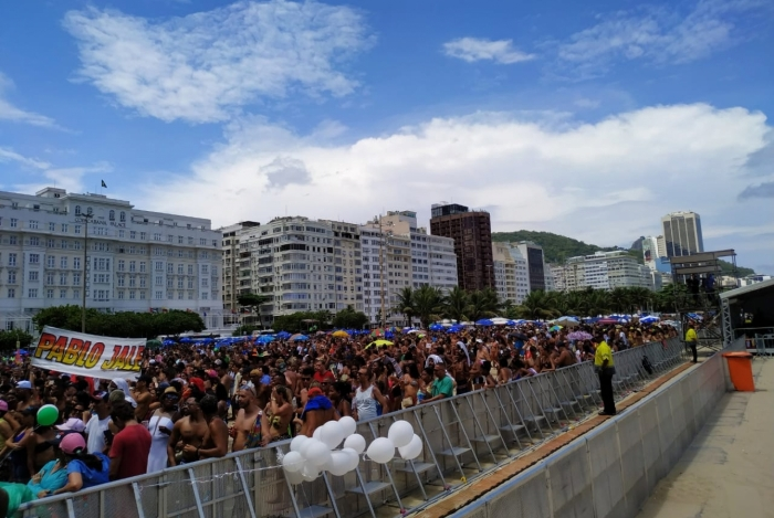 Rio fica em estágio de mobilização com abertura do Carnaval 2020 em Copacabana