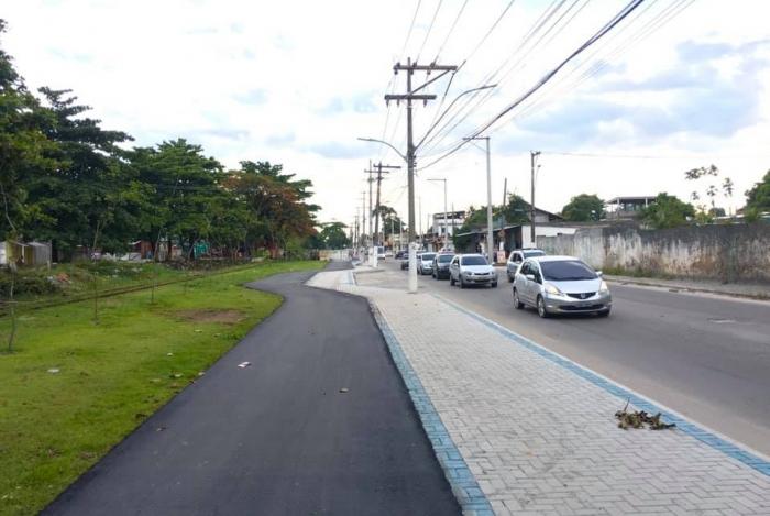 Ciclovia de Imbariê está sendo recuperada pela prefeitura de Duque de Caxias