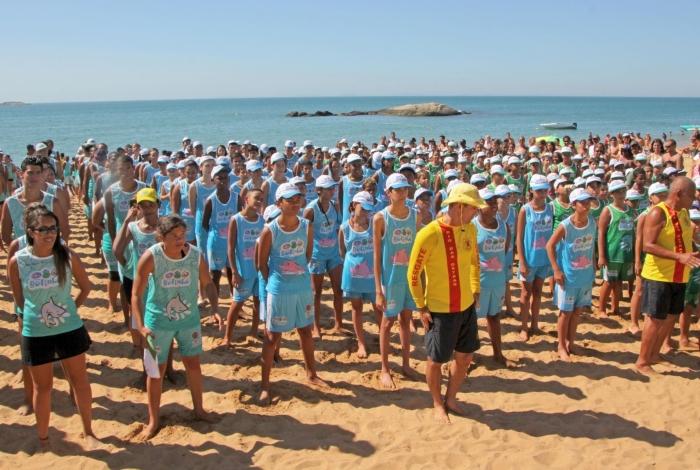 O Projeto Botinho acontece desde 1963, no período de férias escolares