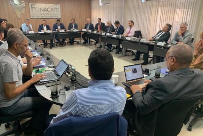 Reunião do Fonacate ocorreu nesta terça-feira, 14 de janeiro