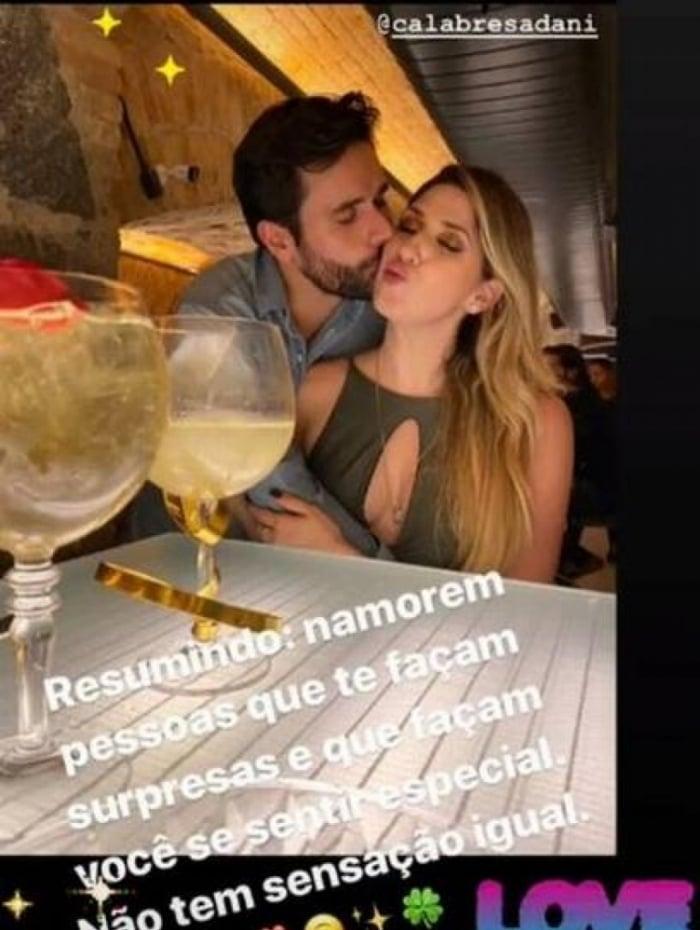 Dani Calabresa está namorando publicitário