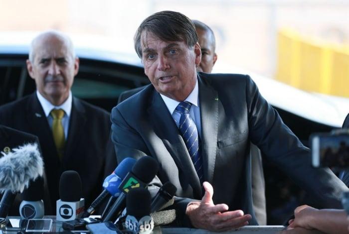 Presidente Jair Bolsonaro afirmou nesta quinta-feira que se a comunicação do governo fosse uma 'porcaria', não haveria críticas ao secretário de Comunicação Social da Presidência (Secom), Fabio Wajngarten