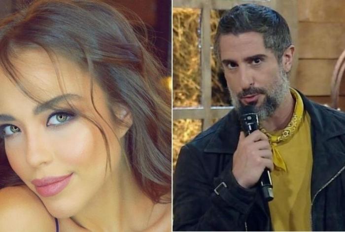 Ana Carolina Jorge e Marcos Mion