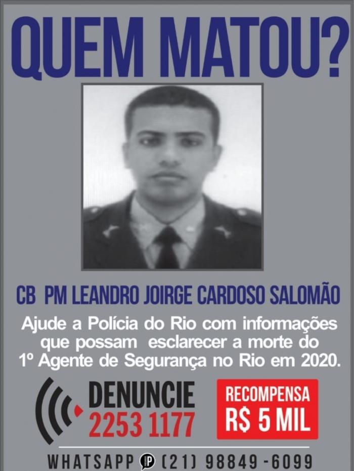 Disque Denúncia oferece R$ 5 mil por informações sobre morte de PM (esq). Paulo Alves foi baleado no olho