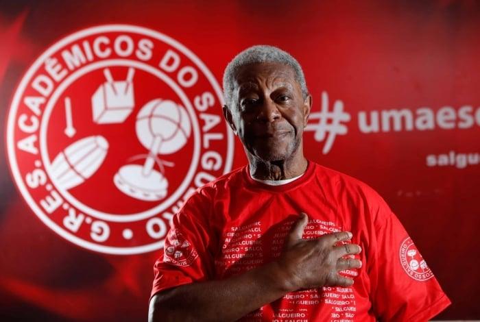 Rio, 16/01/2020, ESPECIAL, Escola de Samba Salgueiro, na foto Milton Goncalves, Foto de Gilvan de Souza / Agencia O Dia