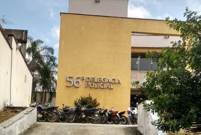 O criminoso foi encaminhado a 56ª DP (Comendador Soares)