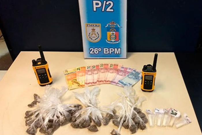 Drogas foram apreendidas em mais um trabalho realizado pelas polícias Civil e Militar