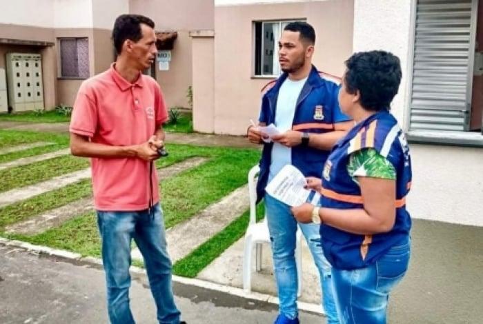 Caxias realiza ação social no condomínio Narcisa Amália II
