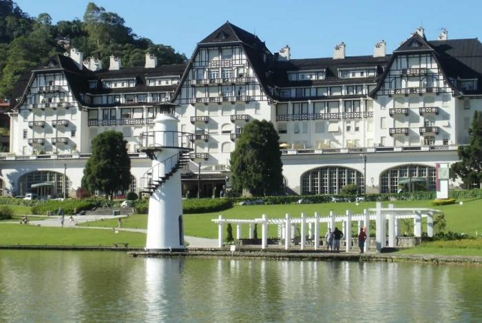 O Quitandinha é um dos pontos mais visitados da cidade