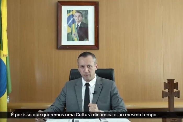 Secretário de Cultura, Roberto Alvim, copia trechos de Goebbels em vídeo no Twitter