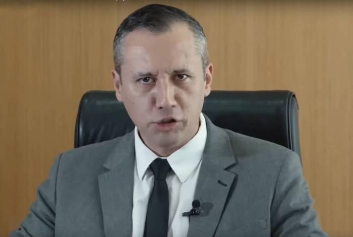 Ex-secretário especial da Cultura, Roberto Alvim