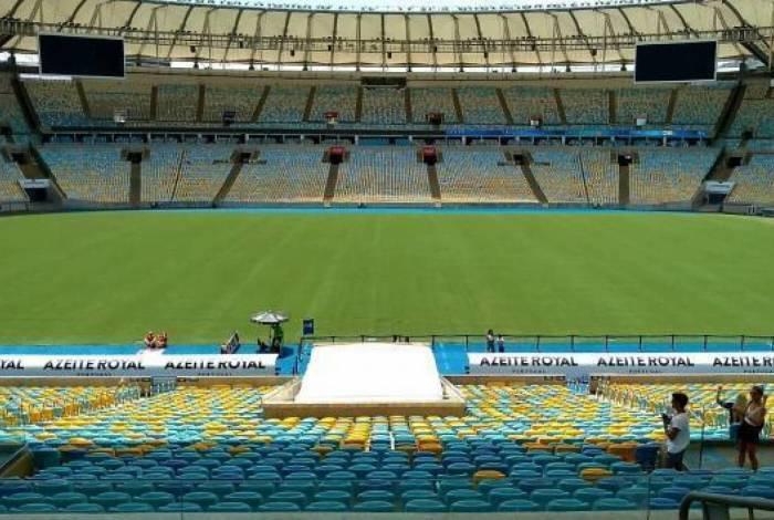 Tratamento do Maracanã foi realizado no nas primeiras semanas de 2020
