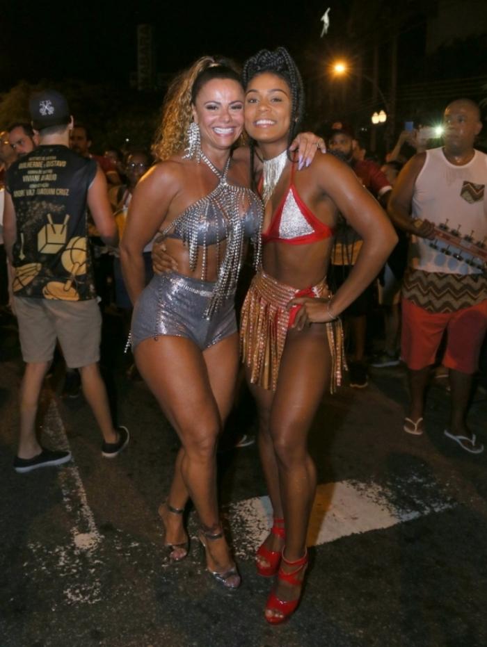 Viviane Araujo e Mc Rebecca