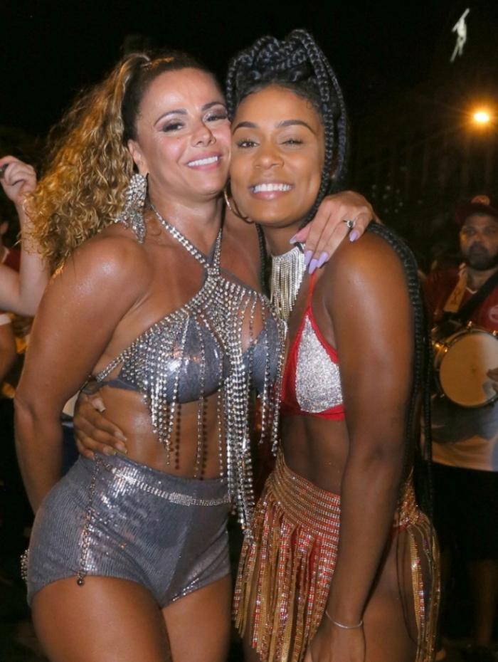Viviane Araujo e Mc Rebeca