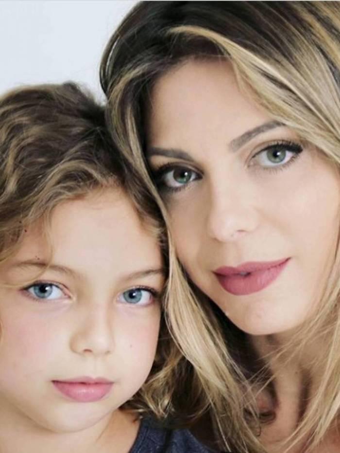Sheila Mello e a filha, Brenda
