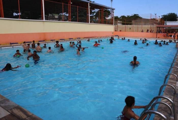 Complexo do Barreto tem atividades esportivas para menores dos 6 aos 16 anos