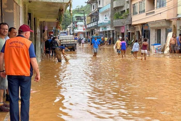 Iconha foi um dos municípios do Espírito Santo atingidos pelas chuvas