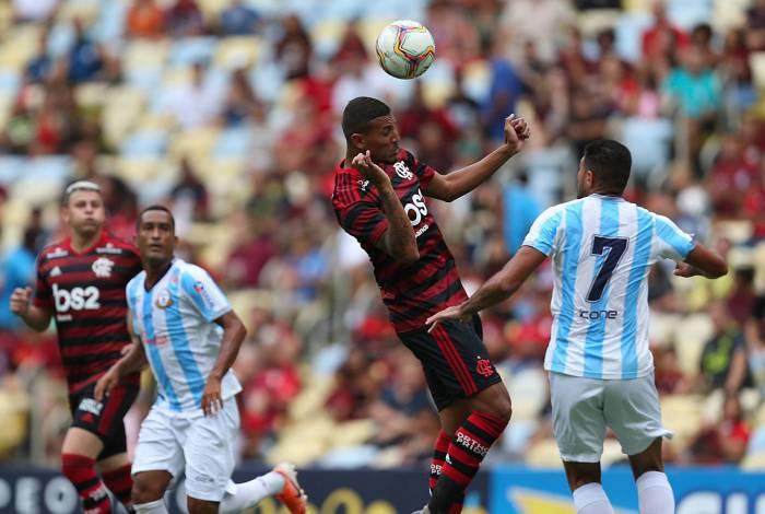 14 01 2020 - ATAQUE - Campeonato Carioca - Macae x Flamengo, Maracana pela primeira rodada. Foto: Daniel Castelo Branco / Agencia O Dia