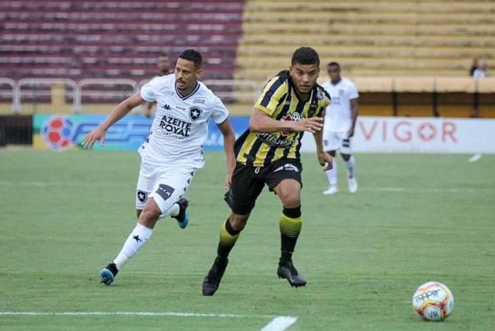 Botafogo perdeu para o Volta Redonda