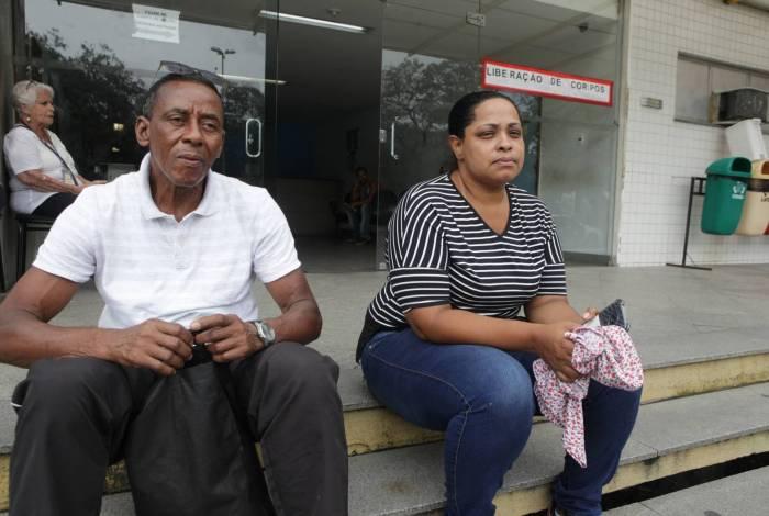 Marido e filha de Tânia no IML: 'Acredito que minha mãe tentou descer'