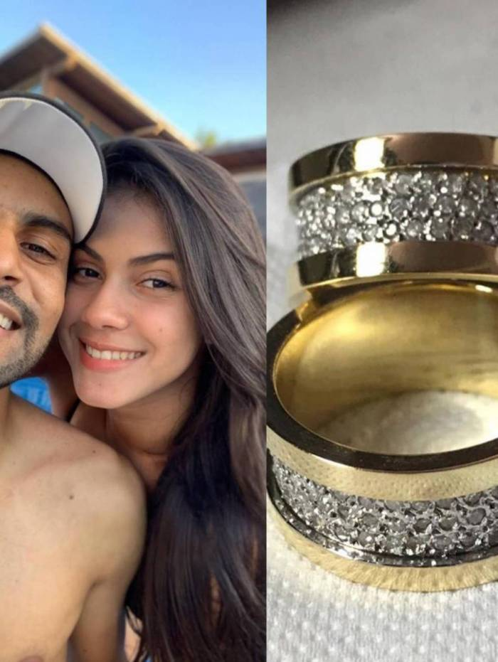 Thullio Milionário e Samia Oliveira engatam namoro
