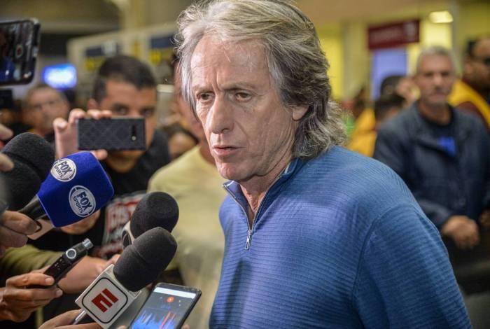 Jorge Jesus retorna ao Rio para comandar o Flamengo em 2020