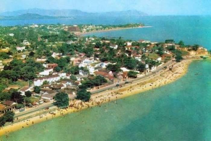 Praia de Sepetiba nos anos 60